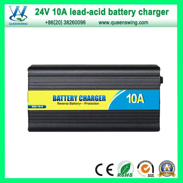 24V Charger 10A Storage Battery Charger (QW-B10A24)