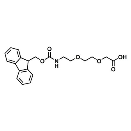 Fmoc-PEG2-acetic acid;Fmoc-AEEA;CAS#166108-71-0