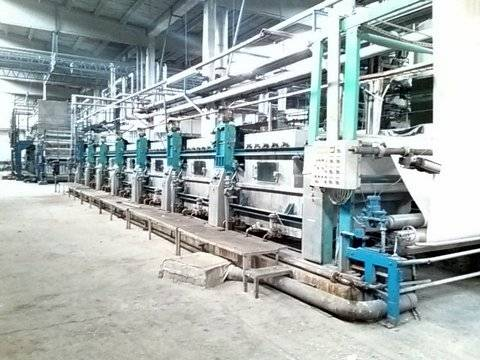 Goller PAD STEAM CONTINUOUS DYEING RANGE, 220 cm