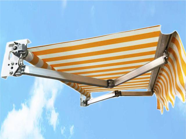 Retractable awning RA-002 strong aluminum arm
