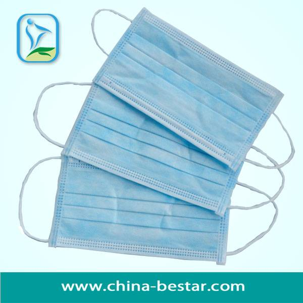 Anti-Dust 3-Ply Auto-Machine Earloop Face Mask