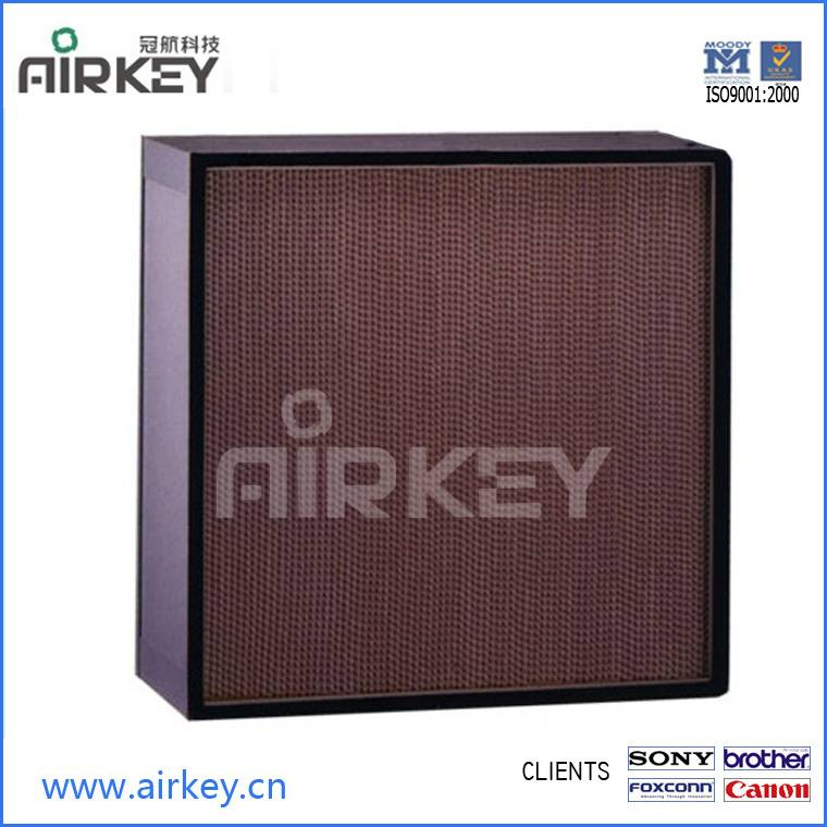 Cleanroom consumables air filter hepa filter