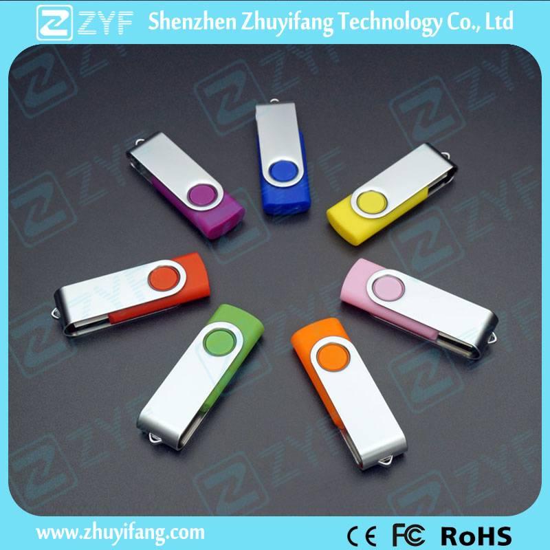 World Popular Swivel 4GB USB Flash Drive ZYF1269