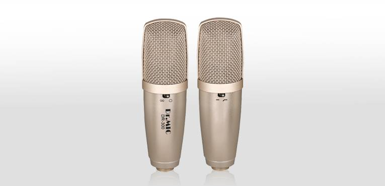 DR.MIC Large Diaphragm Recording Condenser Microphone DR-300