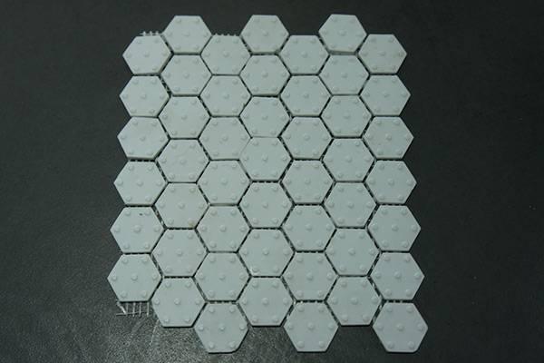 Alumina mat