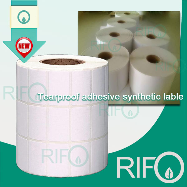 Waterproof White BOPP Synthetic Paper with MSDS RoHS (RPG-54)