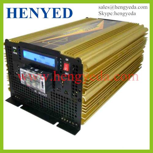 New Arrive! ! best factory price for pure sine wave solar power inverter 3000w with LCD display
