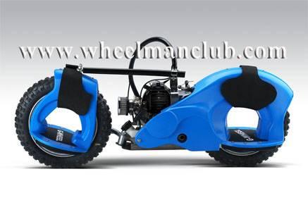 Sell 2009 New wheelman Motorized Skateboard 49cc