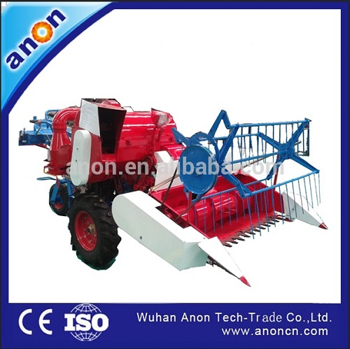 ANON Factory price of mini rice combine harvester