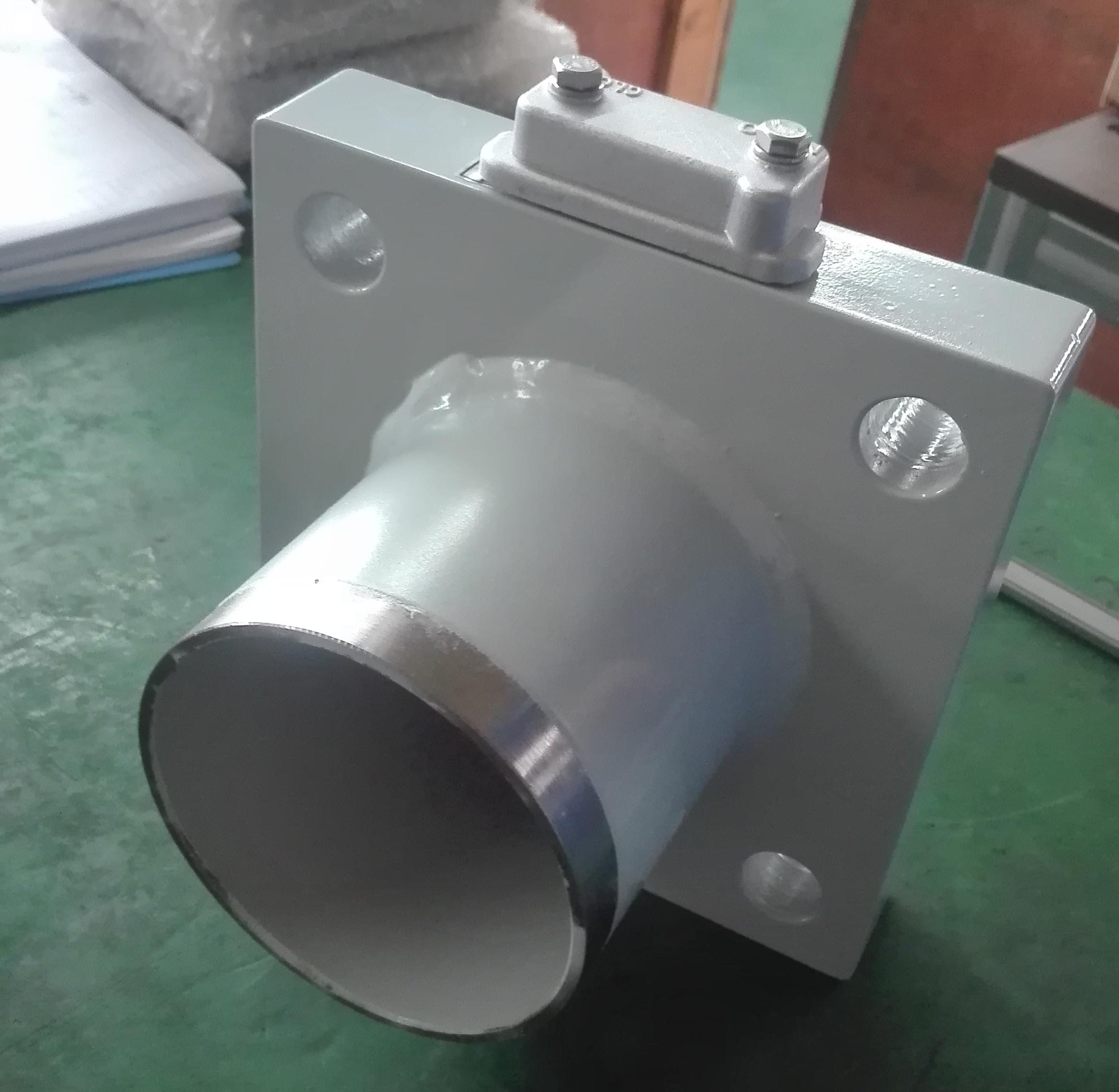 GE square butterfly valve for power transformer weld on type
