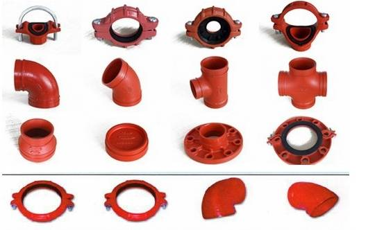 High Quality ductile iron Cross Pipe Fitting