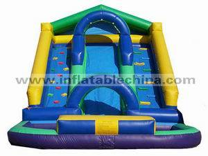 Inflatable slide T-381