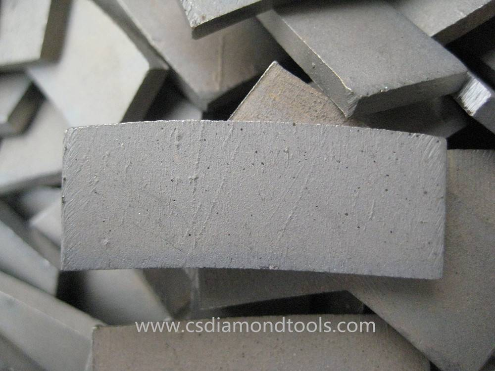 customizable diamond segment cutting travertine limestone segment for diamond saw blade cutting bloc