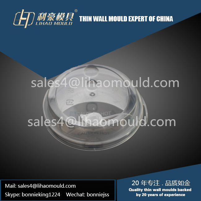 high speed disposable milk-tea or coffee cover moulding solution