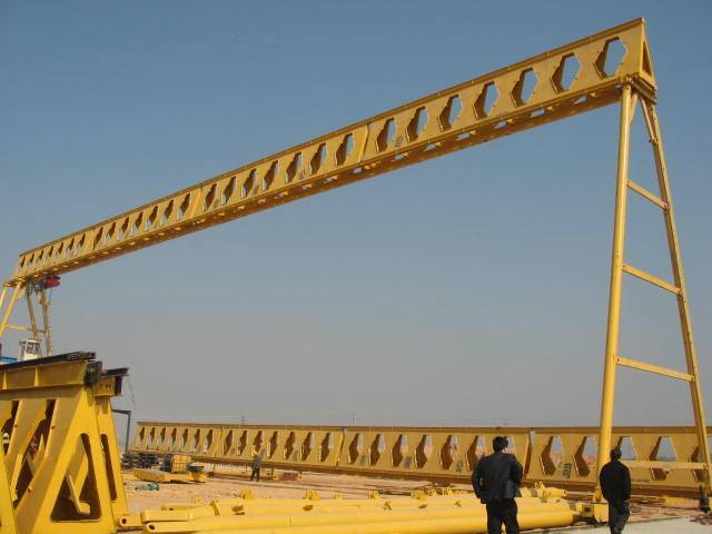 MH5T single girder gantry crane