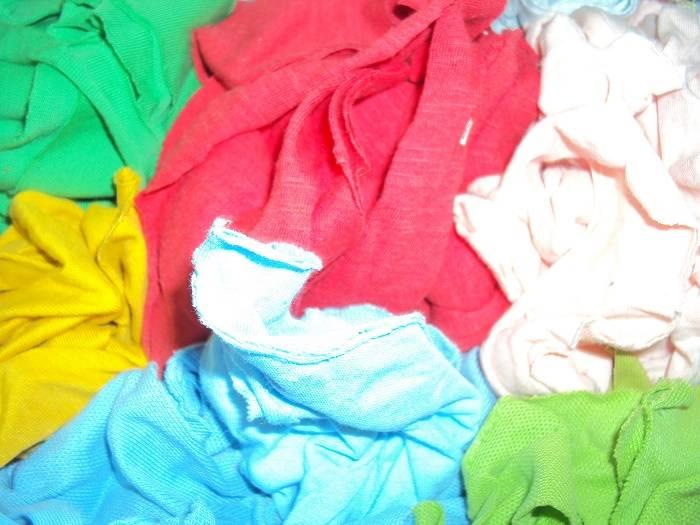100% Cotton Knit Clips