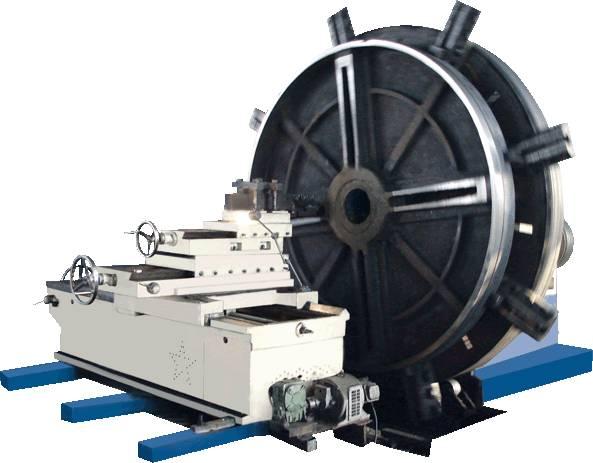 Center Heavy Duty Lathe Machine Adopt Electromagnetic Motor
