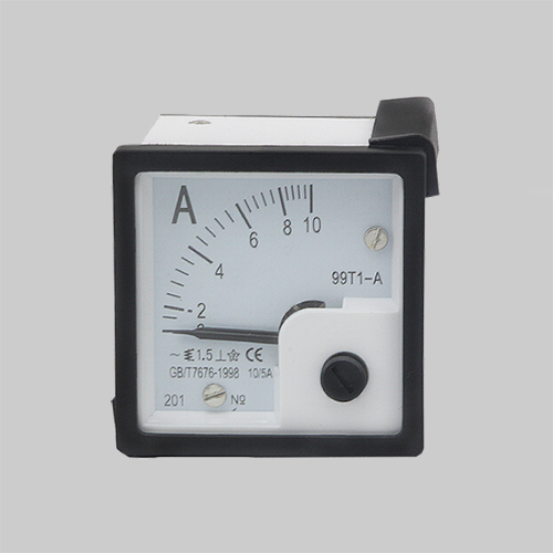 Portable electrical power distribution system test measurement equipment moving iron moving coil poi
