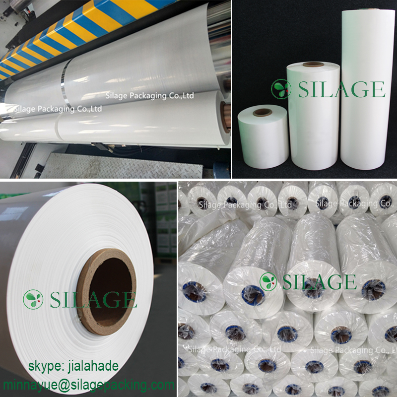 opaque white Silage Film,500mm25mic1800m,Agriculture Silage Wrap Film