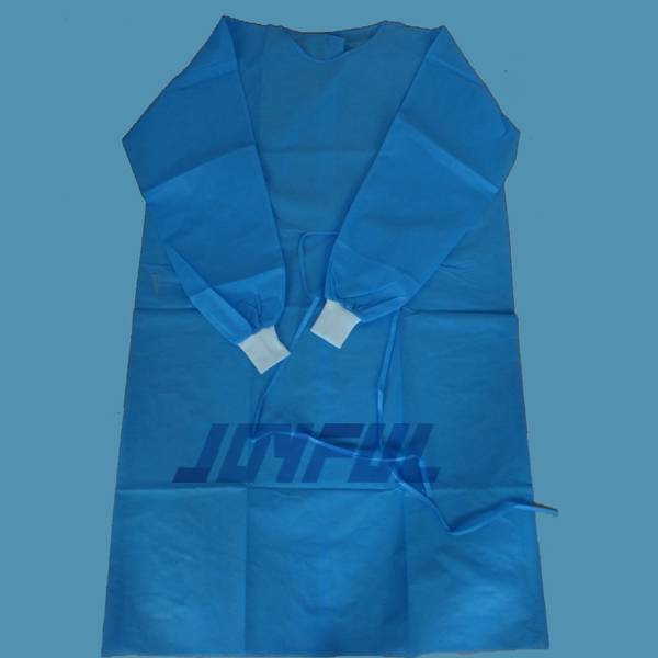 High Quality Disposable PP and SMS Surgical Gown and Isolation Gowns with Good Price