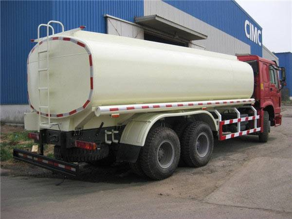 20M3 HOWO 6X4 Fuel Tanker Truck with Flat Cab 336 HP