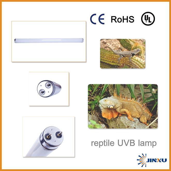 JX reptile uvb fluorescent lamp uv5.0/10.0
