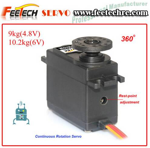 10kg cm 360 Degree Continuous Rotation Servo FS5109R