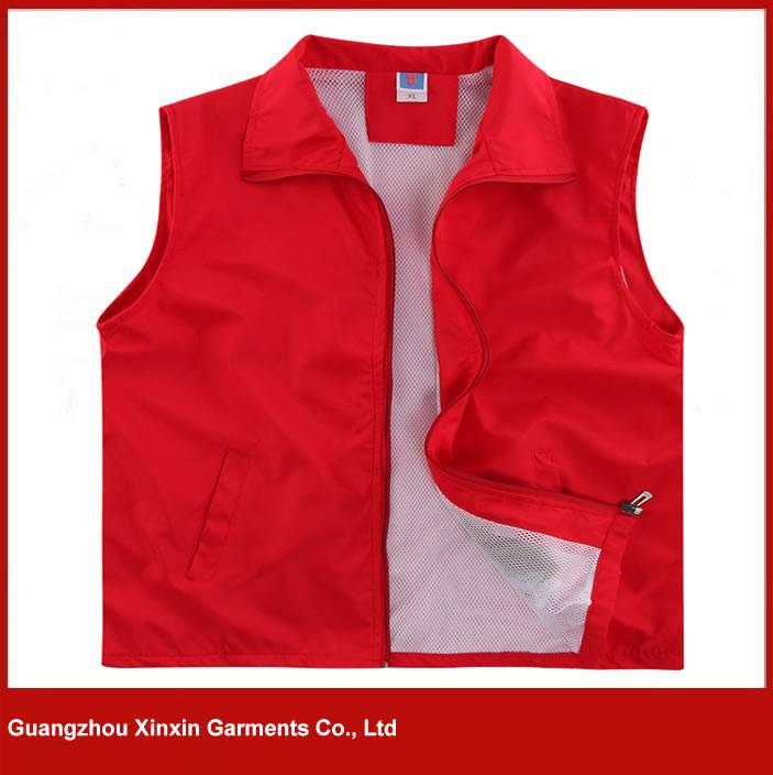2016 Men's Cheap Fashion Wholesale Polyester Vest Volunteer Vest
