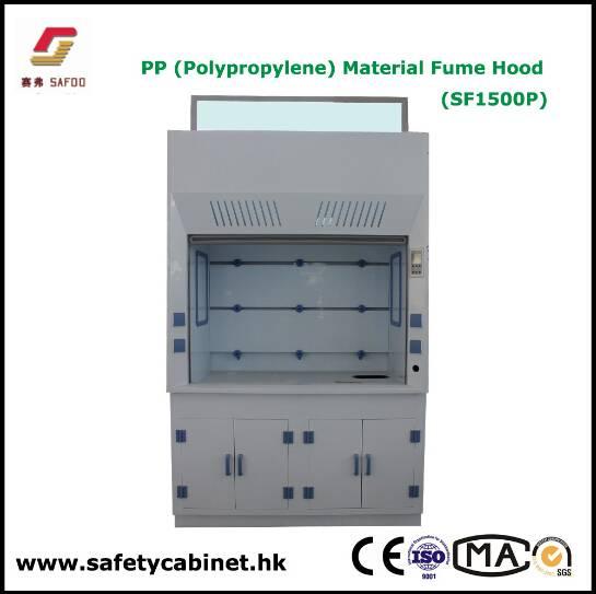 SAFOO Lab Polypropylene Fume Hood
