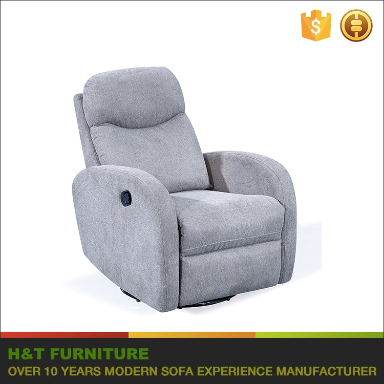 Reclining Sofa Recliner Chair With 360 Degree Swivel F626