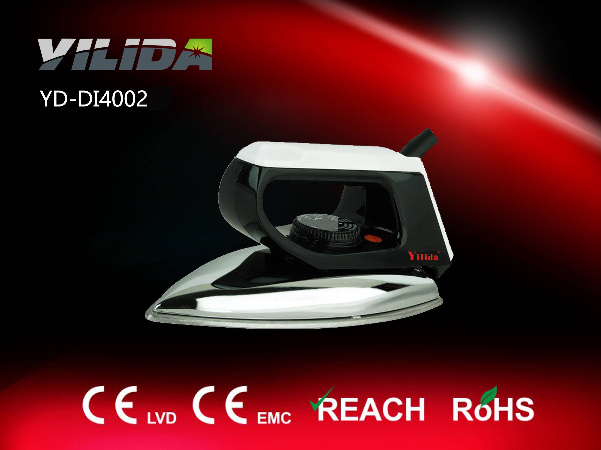 1000W Teflon Soleplate Electric dry iron