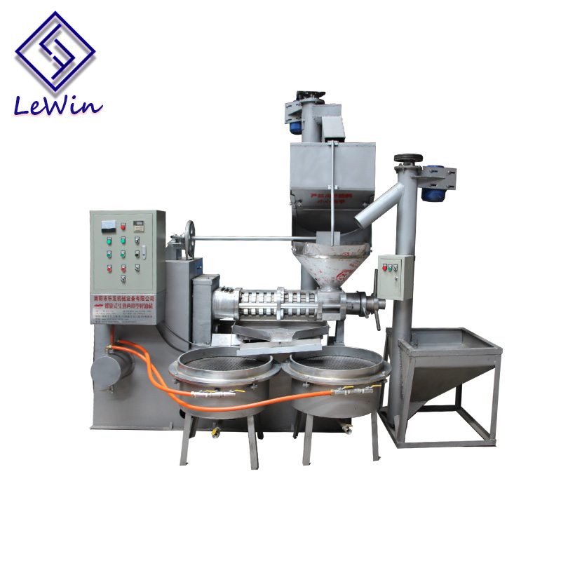 manufacture screw oil press machine for peanut sesame