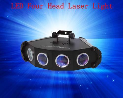 Stage Lighting LED 4Heads Laser Light