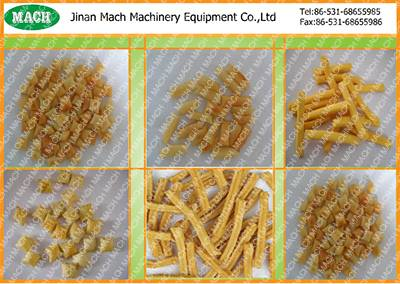 automatic extruded snack food corn puff procesing line