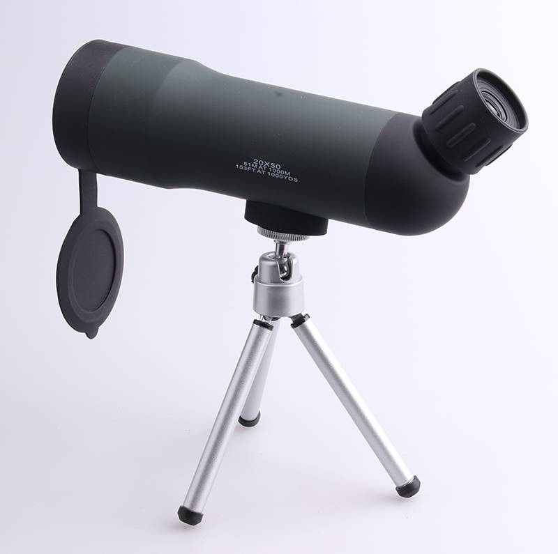 20x50 bird watching monocular with tripod
