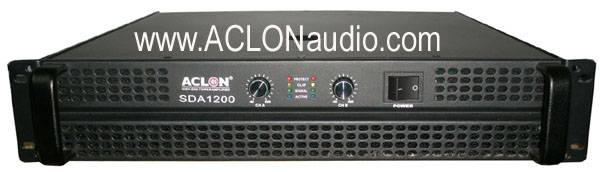 2u 1800W PRO Audio Power Amplifier (SDA1200)