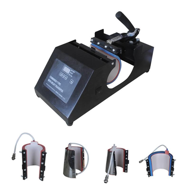 New Design 4 In 1 Digital Mug/Cup Printing Machine CE Certificated High Quality Combo Mug Press/Hot