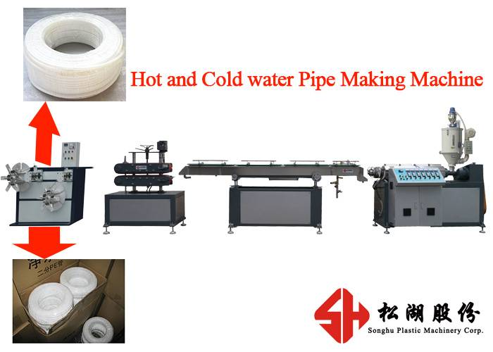 High Speed LDPE Water Purifying Pipe / Tube / Hose Production Line