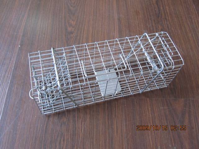 Collapsible Metal Mouse Trap with two doors