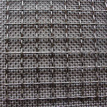 Square Hole Stainless Steel Crimped Wire Mesh