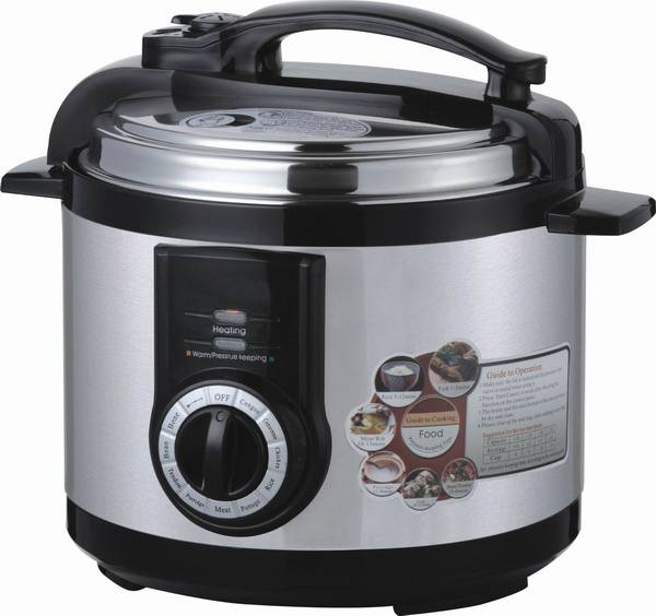 Low energy saving CE CB SASO approved 900W 5l multifunction national electric pressure cooker
