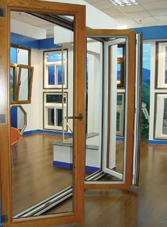 68 Series Wood Folding Door