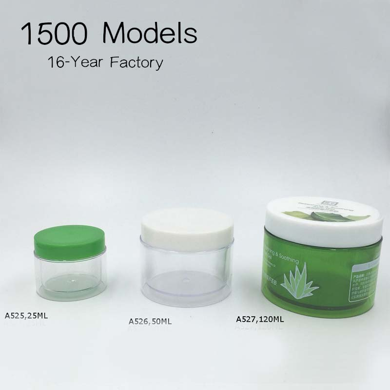 Plastic Face Cream Jars