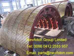 Girth gear of ball mill