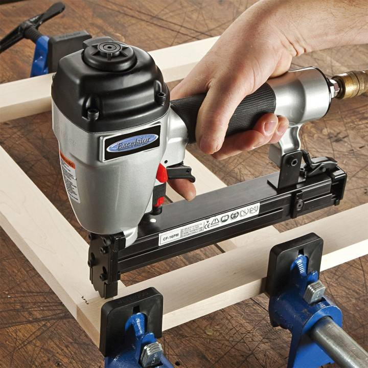Corrugated Fastener Tool for Face Frame Construction