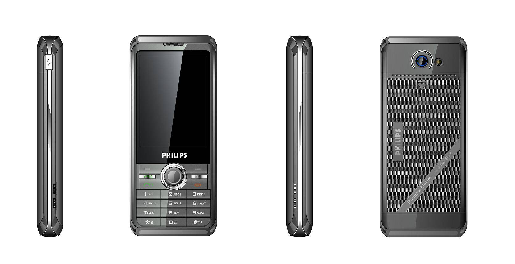 NEW ARRIVAL 8825 wholesale PHILIPS DUAL SIM SUPPORT T CARD 4GB TOUCHSCREEN BLUETOOTH MONILE PHONE