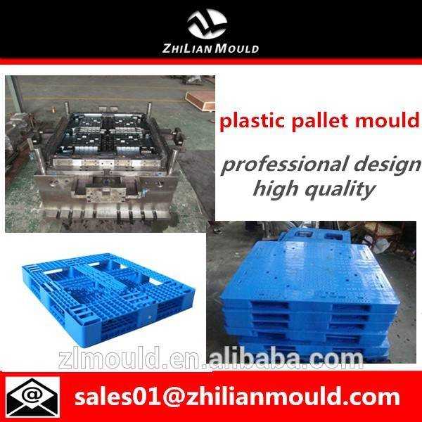 taizhou stackable pallet mould plastic transportation pallet mold