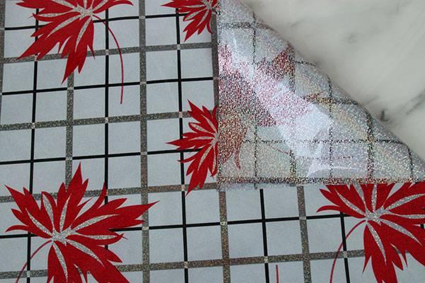 Heat resistance fancy style hot selling PVC Laser Table Mat