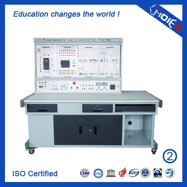 Programmable Logic Controller Trainer II,PLC Training Equipment,PLC Educational Teaching Trainer,Voc