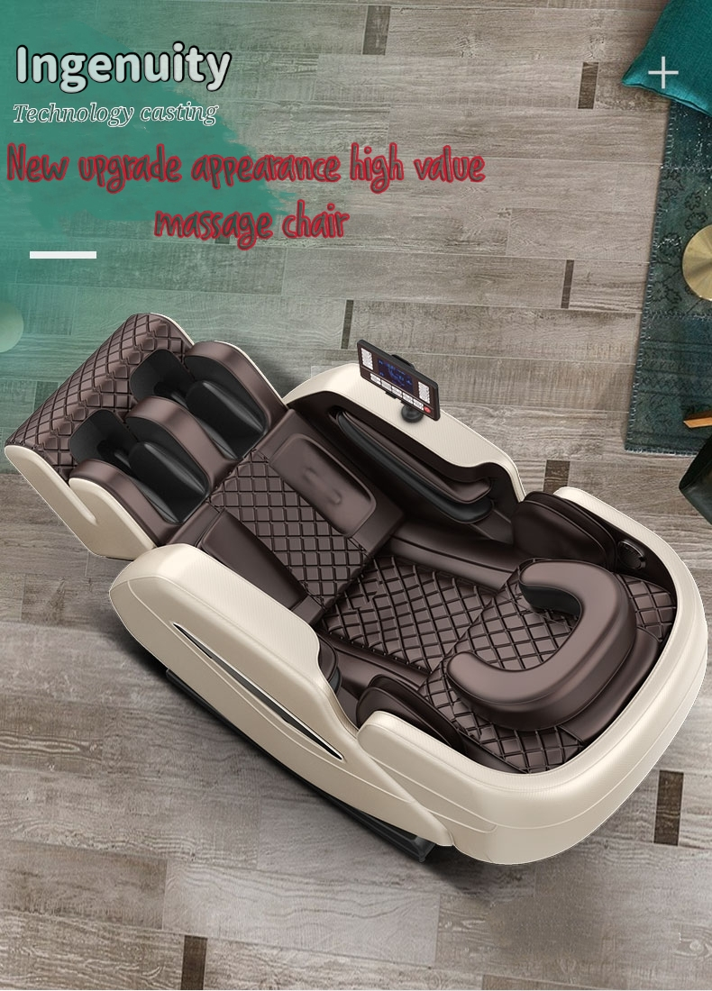 Full automatic electric massage chair, household whole body small multi-functional luxury space caps